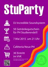Stuparty 2015 Flyer